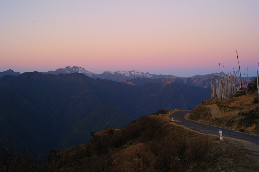 Chelela pass at dawn