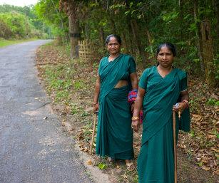 WOMEN FOREST GUARDS, SEPAHIJHALA